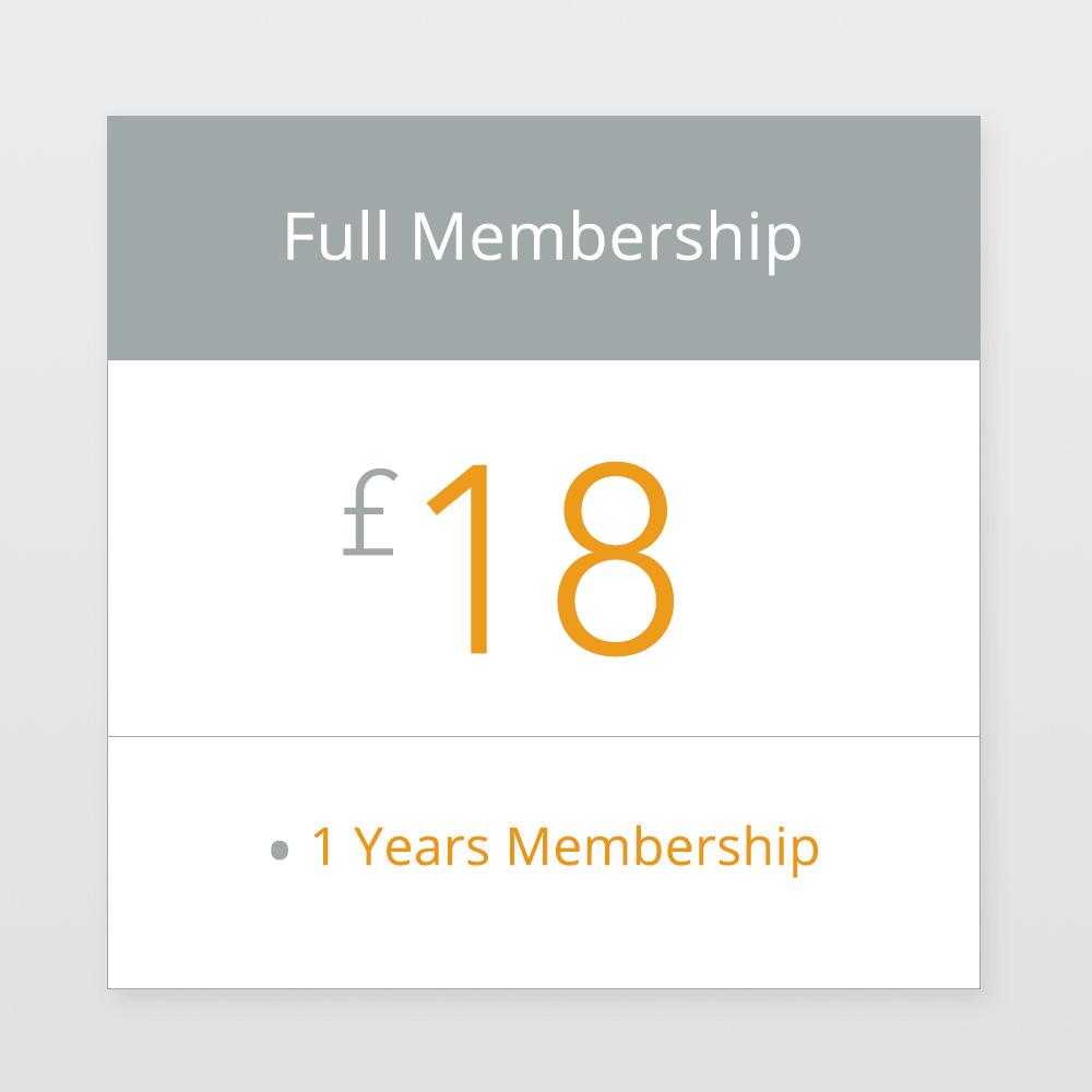 Full Membership £15