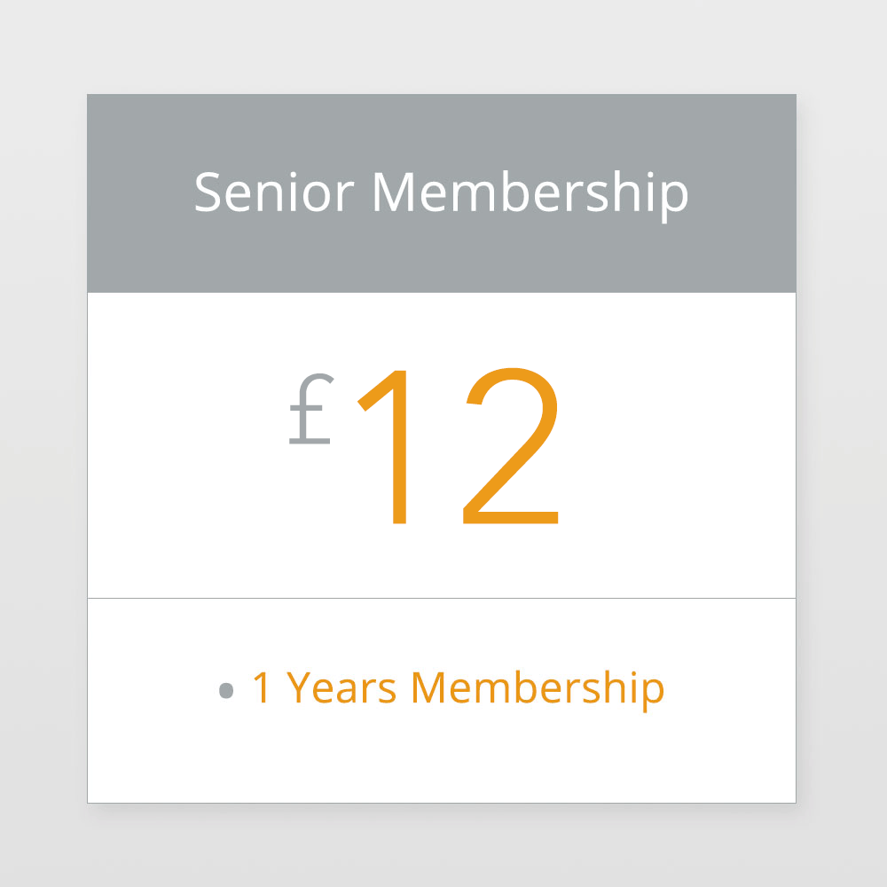 Senior Membership £12