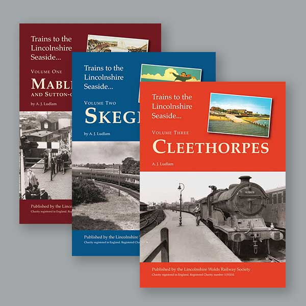 Trains to Lincolnshire Seaside book offer